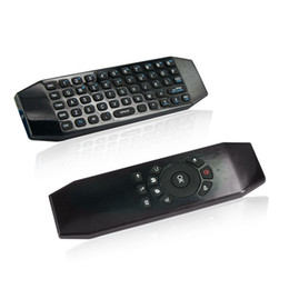 Media Player For Pc Australia - Fly Air Mouse Wireless Mini Keyboard with Mic Voice Remote Control T5 for Android TV Box PC Media Player Keyboards