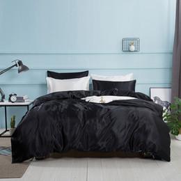 $enCountryForm.capitalKeyWord Australia - 4pcs satin silk bedding set,king size bed set, bedclothes, Western Style Sheet Pillowcase & Duvet Cover Sets