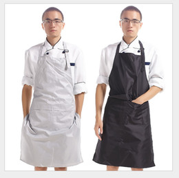 Wholesale High Quality PVC Waterproof Aprons Adjustable Sleeveless Cooking Work Aprons Kitchen Apron Schort Chef Apron Tablier Barbe