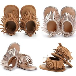 Chinese  2019 New Arrival Toddler Newborn Baby Boys Girls Summer Sandals Tassel Shoes Soft Sole Toe Shoes Prewalker 0-12MClogs 0-12M cx manufacturers