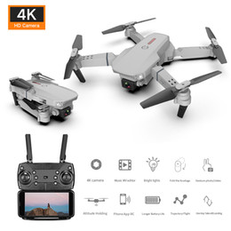 Wholesale Folding RC Aircraft Air 4k 720P 1080P HD Dual Camera Wide-angle Head Four-Axis drone Remote toys