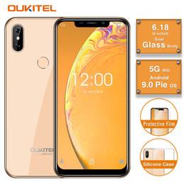"Google Touch Screen Australia - Cheap 4G LTE OUKITEL C13 Pro Android 9.0 Pie 64-Bit Quad Core MTK6739 2GB 16GB 6.18"" U-notch Full Screen Fingerprint Face ID GPS Smartphone"