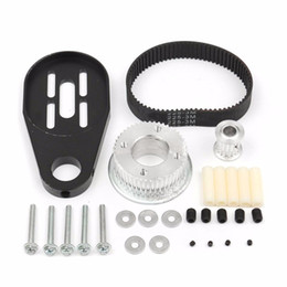 $enCountryForm.capitalKeyWord NZ - New DIY Electric Skateboard Parts Pulley Drive Belt and Motor Mount Kit For 80MM Wheel Parts Accessories