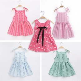 317bd04024e6 Cute Cheap Baby Girl Dresses Australia - Cheap Summer baby Girl clothes  Dresses Girls sleeveless cute