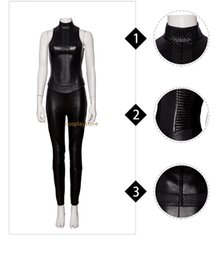 Making Clothes Games Australia - Alita Battle Angel Cosplay Costume Women Leather Clothes Halloween Costume