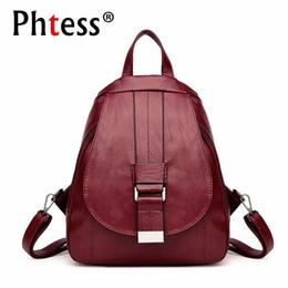 Styles Backpacks Australia - 2019 Women Vintage Backpacks For School Small Shoulder Bag Preppy Style Female Backpack For Teenage Girls Sac A Dos Softback New Y19061204