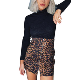 acc111d3f16e feitong Leopard print skirt hip skirt Mini Skirts Elegant Woman Casual  Clubwear Party Club Holliday #w40