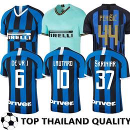 milan kids soccer jersey 2019 - ICARDI LAUTARO Inter 2019 2020 Milan soccer jerseys Mushup 20th anniversary PERISIC NAINGGOLAN 18 19 20 Men Women Kids f