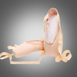 $enCountryForm.capitalKeyWord Australia - Free shipping S5111 hot sale pointe shoes for sale ballet ponite shoes canvas wholesale cheap pointe dance shoes