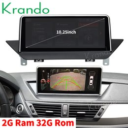 series stereo NZ - Krando Android 9.0 10.25'' car navigation system for BMW X1 E84 2009-2015 car audio multimedia radio player stereo GPS Bluetooth car dvd