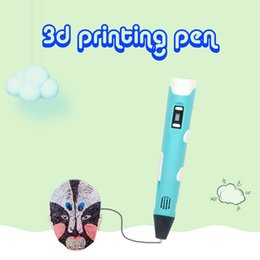 $enCountryForm.capitalKeyWord NZ - 3D Printing Stereo Printing Pen Electronic Science And Education Children Educational Toy Holiday DIY Decorations Party Writing Supplies