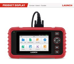 lexus diagnostic tester Australia - Original LAUNCH X431 CRP129X OBD2 Scanner Car Diagnostic Tool Auto Scan Diagnoses OBDII Code Reader four systems diagnose tool