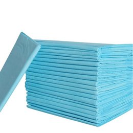 Diapers For Dogs Australia - 100pcs set Pet Housebreaking Pad For Pet Pee Training Pads Underpads Keep Healthy Clean Wet Mat Pet Dog Puppy Diapers 33 X 45cm Q190430