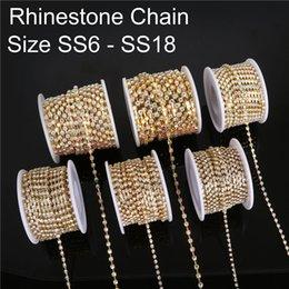 $enCountryForm.capitalKeyWord NZ - 10 Yard SS6-18 Rhinestone Chains Copper Claw White AB Transparent Glass Rhinestone Jewelry Craft Apparel Sew On Accessoires DIY