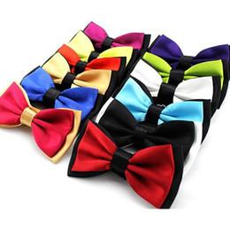 $enCountryForm.capitalKeyWord Australia - Bowtie men formal necktie boy Men's Fashion business wedding bow tie Male Dress Shirt krawatte legame gift 2-Color