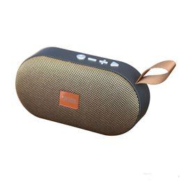 $enCountryForm.capitalKeyWord Australia - bluetooth speaker T7 portable fabric super bass wireless mini outdoor climbing mobile phone card portable small speaker subwoofer
