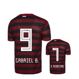 Flamengo Jersey UK - 19 20 flamengo jersey 2019 2020 Flemish GUERRERO DIEGO VINICIUS JR Soccer Jerseys Brazil Flamengo GABRIEL B sports football woman shirt