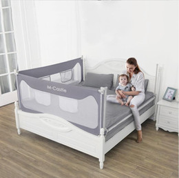 Baby Bed Playpen Safety Gate Products Child Care Barrier Fence For Beds Crib Rails Security Fencing Children Guardrail on Sale