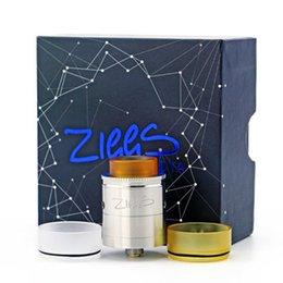 100% оригинал Advken Ziggs RDTA бак двойной пост 510 резьба 24 мм бак распылитель система AFC открыть хлопок слоты дизайн испаритель на Распродаже