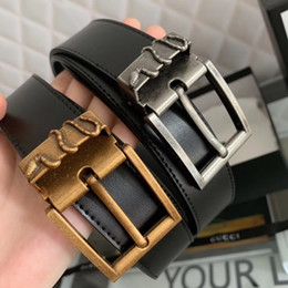 Discount tiger pins - new arrival Hot fashion man Snake tiger pin buckle belts men high quality mens belts men leather belt