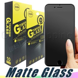 $enCountryForm.capitalKeyWord NZ - Matte Anti Fingureprint Tempered Glass Screen Protector Protective Film For iPhone X Xs Xr Max 8 7 6 Plus