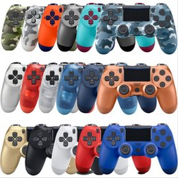 Sony Ps4 Wireless Controller Australia - 18 Colors Available Bluetooth 4.0 Wireless Controller for PS4 Vibration Joystick Gamepad PS4 Game Controller for Sony Play Station 4