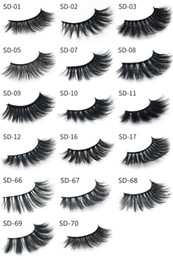 $enCountryForm.capitalKeyWord NZ - 3D Mink Eyelashes Eyelashes Messy Eye lash Extension Sexy Eyelash Full Strip Eye Lashes By chemical fiber DHL