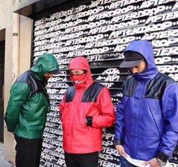 Casais Hiphop Mens Couro Coats retalhos colorida com capuz manga comprida Casacos Moda solto Designer Mens Clothing venda por atacado