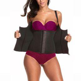 4022b20fc8391 Body Shaper Waist Trainer Belt for Women Slimming Modeling Strap Shapewear  Adjustable Vest Thin Fat Burning Girdles Body Shaping