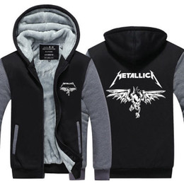 $enCountryForm.capitalKeyWord UK - winter hoody Metallica rock band Men women Thicken autumn Hoodies clothes sweatshirts Zipper jacket fleece hoodie streetwear