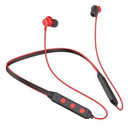 $enCountryForm.capitalKeyWord Australia - Hifi Neckband Bluetooth Headsets Sport Music Wireless Earphones Heavy Bass Stereo HD Microphone Phone Headphones Handsfree