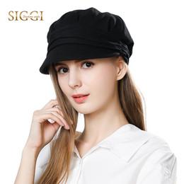 b803da9d11d37 FANCET Womens Cotton Newsboy Hats Warm Cabbie Beret Caps Cloche Visor Black  Chapeau Sombrero Mujer Soft Fashion Hats Femme 66137