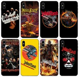 galaxy paintings Canada - [TongTrade] Painted Judas Priest Case For iPhone 11 Pro X XS Max 8 7 6s 6p 5s 5p Galaxy On5 On7 2016 Honor 8 8A 20s LG K7 2016 Cover Case
