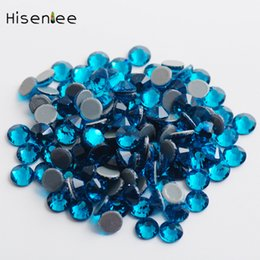 $enCountryForm.capitalKeyWord NZ - High quality peacock blue super flash fashion crystal rhinestone DIY charm nail art clothing accessories decorative crafts