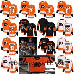 2019 Stadium Series Philadelphia Flyers 53 Shayne Gostisbehere Wayne  Simmonds Claude Giroux Jakub Voracek Provorov Konecny Hockey Jersey 9a929a092