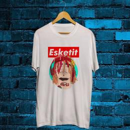 $enCountryForm.capitalKeyWord NZ - New Eskeetit White T Shirt tee Lil Pump white black grey red trousers jacket croatia leather tshirt