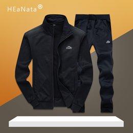 Wholesale men sport sets resale online – Men Sport Suits Gym Sets Spring Running Sets Men Basketball Jogging Fitness Training Suits Warm Running Sport Tracksuits