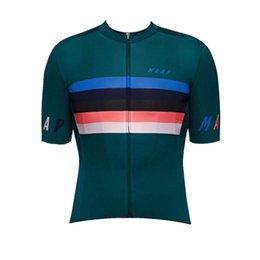 China NEW MAAP Team Cycling Jersey Bicycle shirt summer quick dry short sleeve racing clothing mountain bike tops sports uniform Y071702 cheap maap jersey suppliers