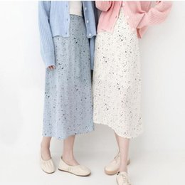 bedff7e7ce 2019 Summer New Arrival Korean Faldas Largas Elegantes Vintage Ladies Skirts  Woman Long Skirt 11 Colors Available Free Shipping