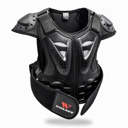 Motorcycle Protection Jacket Australia - WOSAWE Protection Ski Jackets for 4-16 Children Kids Back Guard Bike Armor Gear Motorcycle Bicycle Snowboard Hockey Clothes