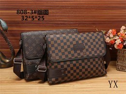 choice cell phone 2019 - 2019 new best selling men's handbags classic shoulder bag high-end Messenger bag fashion printing briefcase free sh