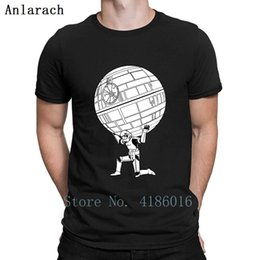 cool star designs NZ - Funny Star Stormtrooper Art T Shirt Cute Design Breathable Cool Solid Color Crew Neck Tee Shirt Spring Autumn Shirt