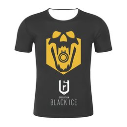 8a01b3d7f 2019 Rainbow Six 3D Siege T-Shirt Gaming Tee Mens Top Video Games Clothing  R6 F Printed Men T Shirt Clothes Top Tee Plus Size