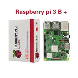 Ingrosso Raspberry Pi 3 B + Più Starter Kit 16G scheda micro SD + Custodia originale + 5V / 2.5A Alimentazione UE con cavo + dissipatore di calore