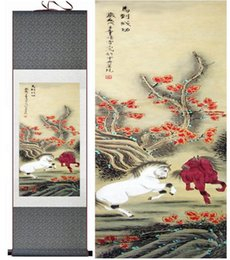 $enCountryForm.capitalKeyWord Australia - Horse Art Painting In Traditional Chinese Painting Art, Top Quality Paint Horse Pictureprinted Home Office Decoration