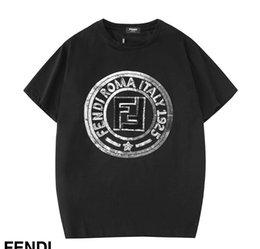 Blend Quality Clothing Australia - 2019 brand high quality Luxurys Men's T-shirt Men's Clothing Casual blend Cotton Letter prind Short Sleeve T-shirt