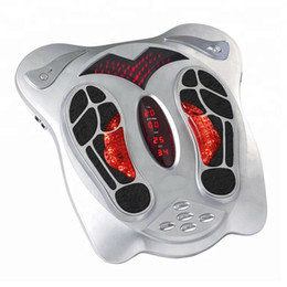 elektrot paster Kızılötesi TENS EMS ayak masajı ile Sağlık koruma enstrüman elektrik ayak masaj makinesi indirimde