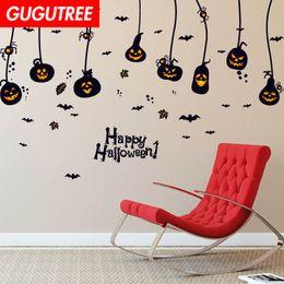 $enCountryForm.capitalKeyWord Australia - Decorate Home Hallowmas Halloween cartoon art wall sticker decoration Decals mural painting Removable Decor Wallpaper G-2116