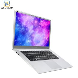 White Laptops Notebooks Australia - ZEUSLAP 15.6 inch 1920x1080p full hd 6gb ram 128gb ssd windows 10 system wifi bluetooth ultrathin laptop notebook pc computer