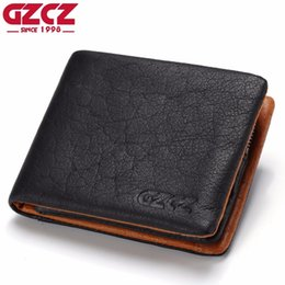 $enCountryForm.capitalKeyWord NZ - Genuine Leather Wallet Men Coin Purse Card Holder Man Walet Zipper Design Male Vallet Clamp For Money Bag Portomonee Perse